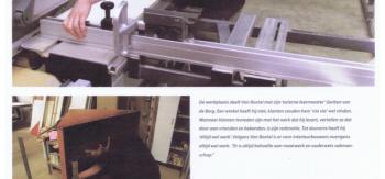 Stage in eigen bedrijf vakblad meubel Mei 2007 blad 2