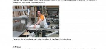 Topper Frank van Boxtel gehuldigd MBO raad